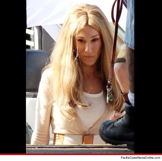 Sarah Jessica Parker blonde wig