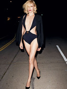 Charlize Theron Does Vanity Fair Shoot in Risque Bikini