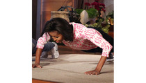 Michelle Obama: The First Lady of Push-Ups!