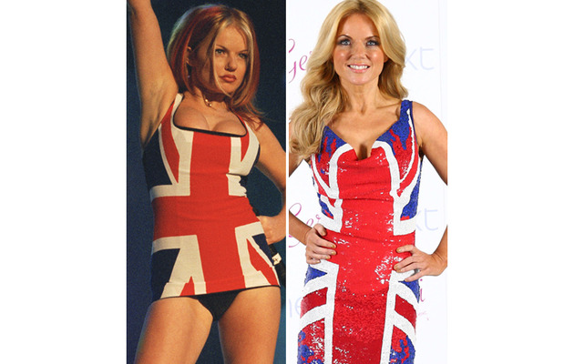 Geri Halliwell Steps Back Into Infamous Union Jack Dress