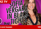 Sofia Vergara -- Black Tights Affair