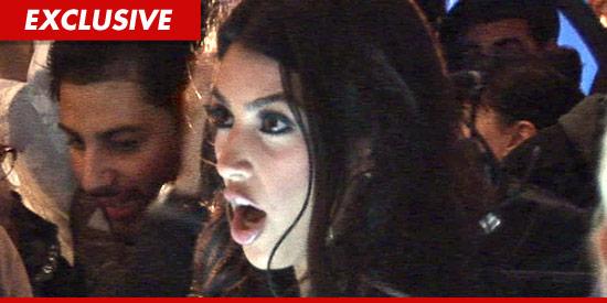 Kim Kardashian mad