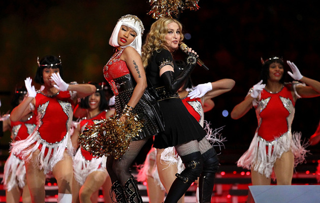 Stars Rate Madonna's Super Bowl Performance