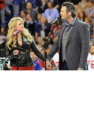 Miranda Lambert Performs Through Tragedy