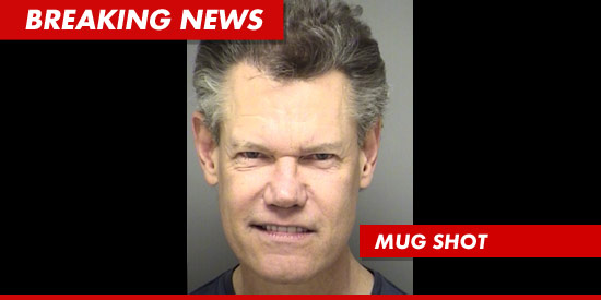Randy Travis mugshot