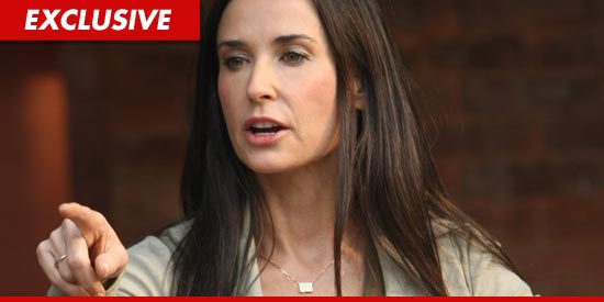 Demi Moore is NOT Rehabbing at the Cirque Lodge