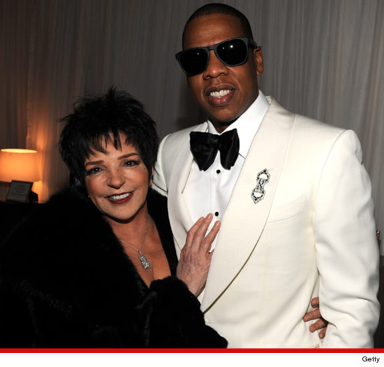 Liza Minnelli and Jay-Z