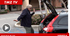 Gary Busey -- Crazy Parking Lot Dance Party
