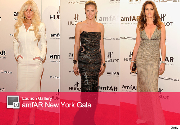 A nearly unrecognizable Lindsay Lohan hit the red carpet for New York Fashion Weeks kick-off event -- the amFAR gala
