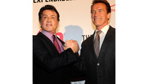 Arnold Schwarzenegger and Sylvester Stallone: Action Star Reunion