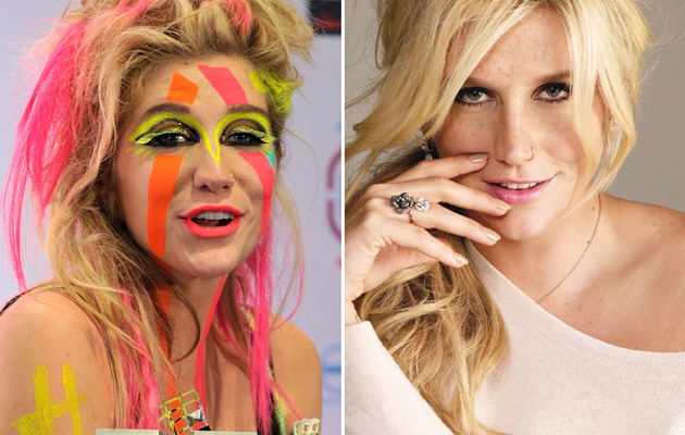 Ke$ha Makeover -- Gets a Major Makeunder -- Like the Look?
