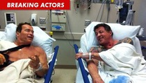 Arnold Schwarzenegger and Sylvester Stallone -- The Couple That Surgeries Together