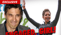 Halle Berry Engaged -- Wants to Move to France ... WITH HER FIANCE!!!