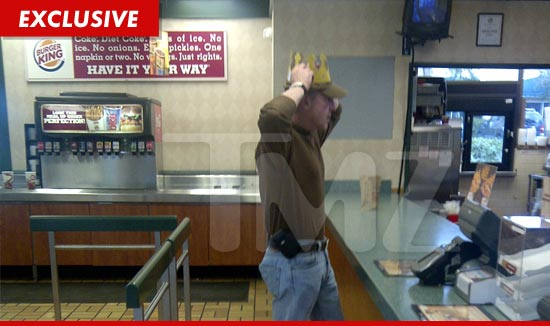 Michael Lohan filed an application with a local Burger King in Palm Beach, Florida