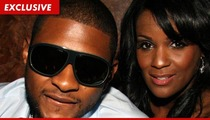 Usher's Ex-Wife: I Need $50,000 to Kick Your Ass in Court