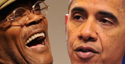 Samuel L. Jackson -- I Voted for Barack Obama Because He&#039;s Black