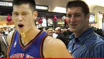 NY Knicks Star Jeremy Lin -- I Wanna be Just Like Tim Tebow!