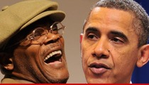 Samuel L. Jackson -- I Voted for Barack Obama Because He's Black
