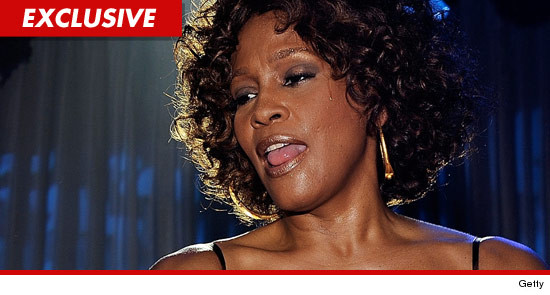 Whitney Houston partied heavily at the Beverly Hilton hotel with a group of friends
