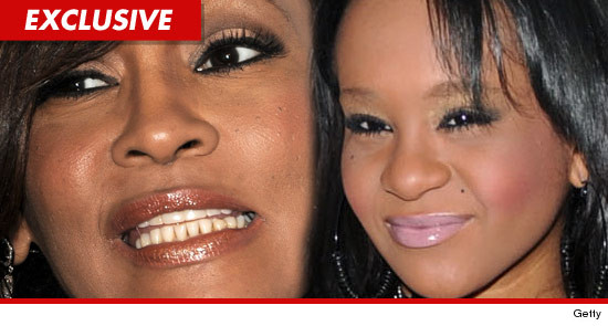whitney houston s daughter bobbi kristina got into an angry shouting