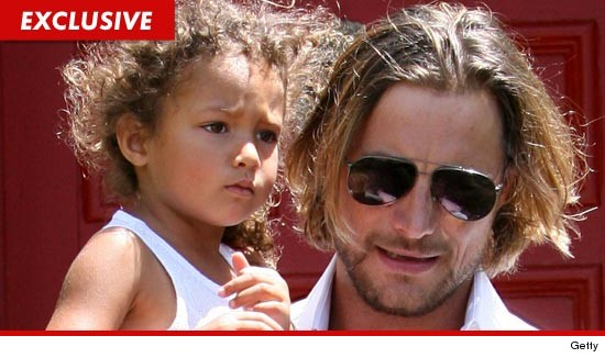 Gabriel Aubry has been accessed of multiple incidents of child neglect and endangerment.