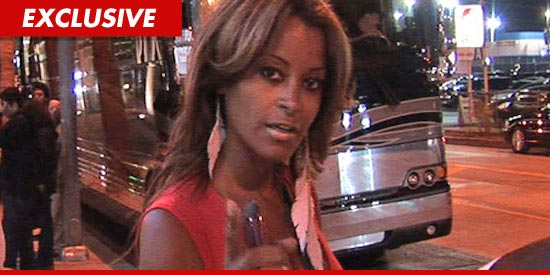 Claudia Jordan told police she was attacked by a crazed woman.