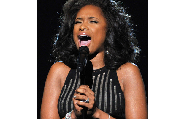 Jennifer Hudson Sings Tribute To Whitney Houston at Grammys