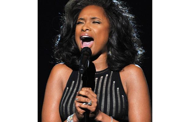 Jennifer Hudson Sings Tribute To Whitney Houston at Grammys