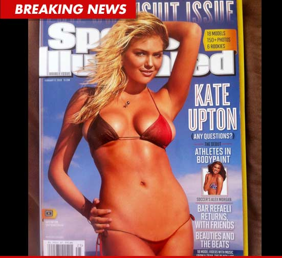 Kate Upton Sports Illustrated Swimsuit Edition cover