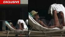 Whitney Houston -- Lounging Poolside Days Before Her Death