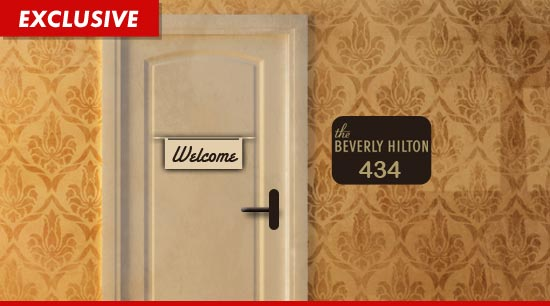 The Beverly Hilton hotel room Whitney Houston died in
