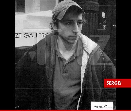 A photo of Sergei Mifle -- The alleged stalker of Blake Lively