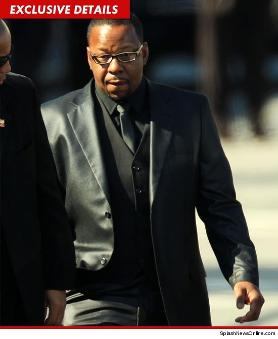 Bobby Brown was asked to leave the funeral of Whitney Houston today.