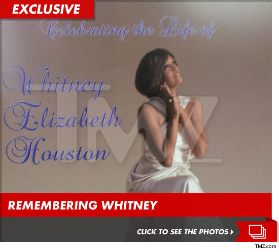 A complete copy of the program handed out during funeral of Whitney Houston.