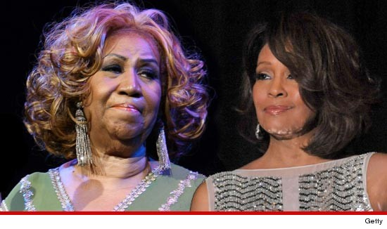 Aretha Franklin canceled her scheduled appearance at the Whitney Houston funeral service.