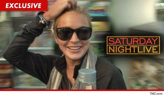 Lindsay Lohan -- Doing 'Saturday Night Live' Was My Idea | TMZ.