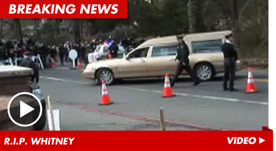 Pop legend Whitney Houston was buried today at Fairview Cemetery.