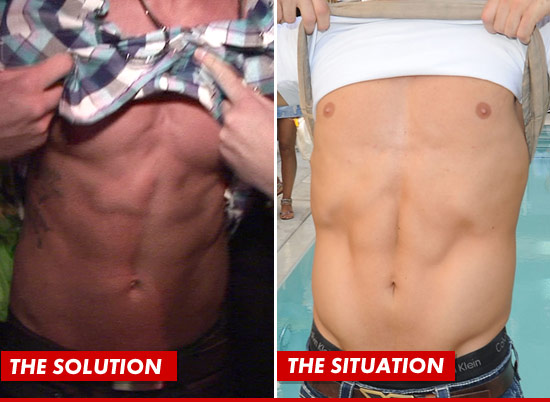 Danny Horals abs vs. The Situations abs