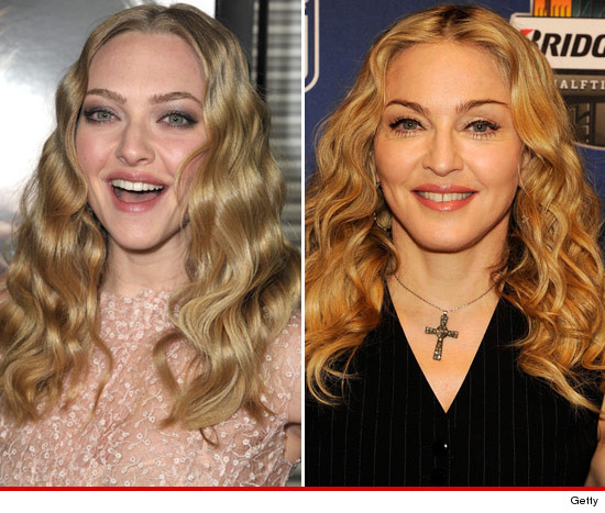Amanda Seyfrie and Madonna