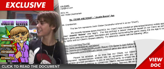 Justin Bieber court documents