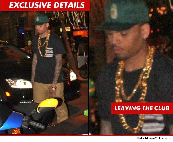 Chris Brown has been accused of angrily snatching an iPhone in Miami.
