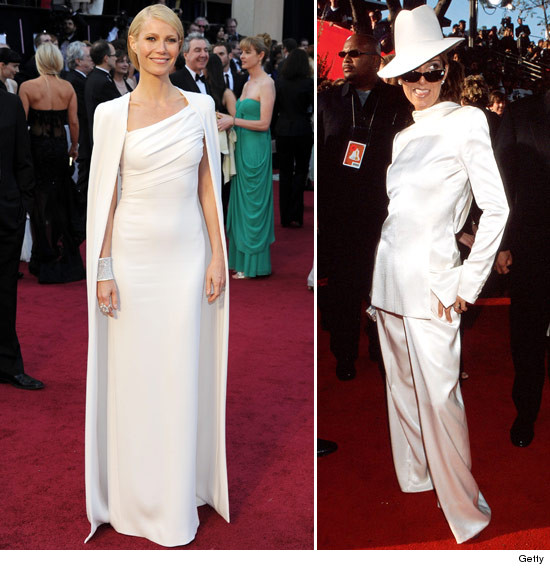 Oscars: Gwyneth Paltrow white dress