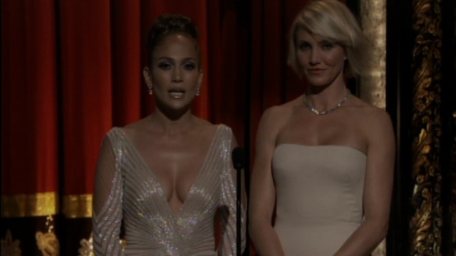 Jennifer Lopez Nipple Slip at the 2012 Oscars