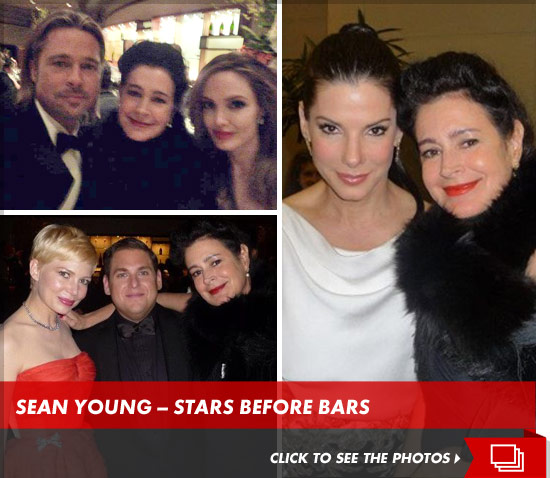 Sean Young -- Arrested for Oscar Party Fight at the Governors Ball ...