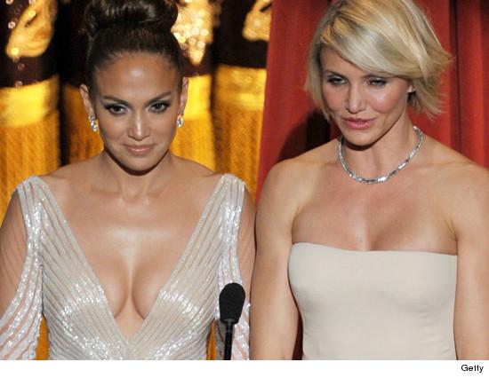 Jennifer Lopez Wardrobe Malfunction Oscars