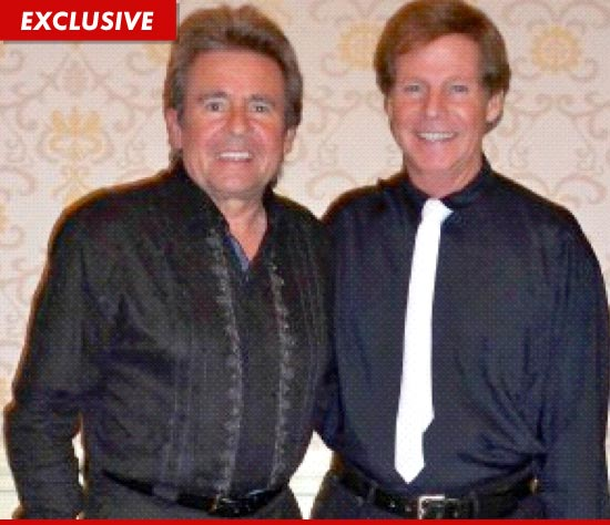 Ron Dante and Davy Jones photographed together.