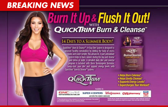 Kim Kardashian and a diet pill called QuickTrim