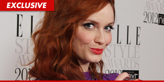 Christina Hendricks nude photos?  Her cell phone was hacked.
