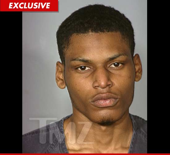 The son of Coolio, Grtis Ivey mug shot