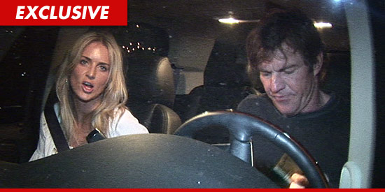 The wife of Dennis Quaid has filed for divorce from the actor